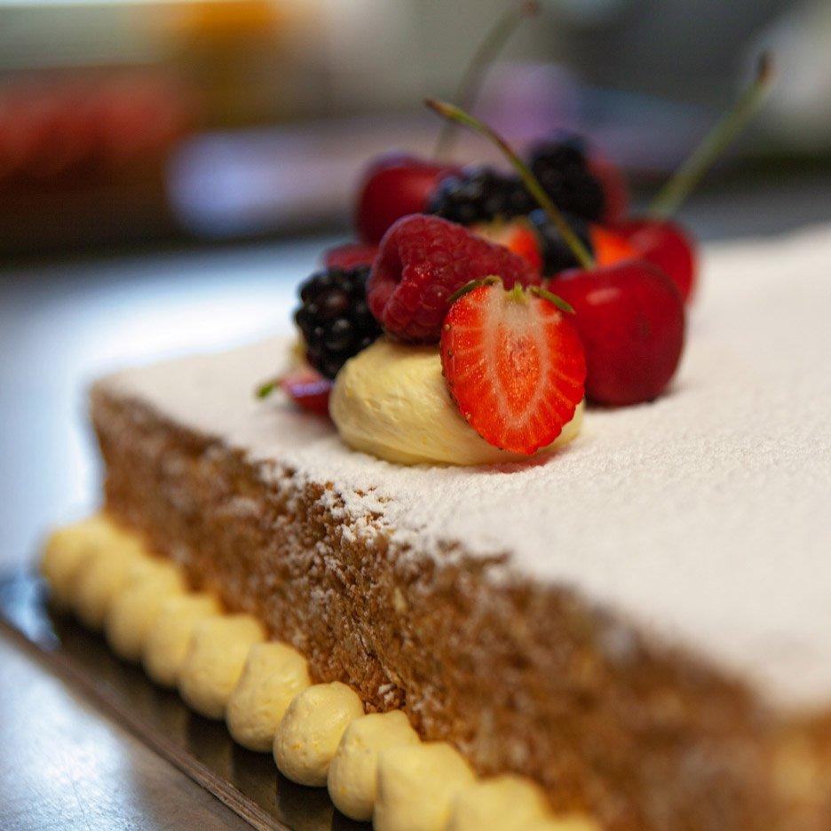 torte millefoglie frutta dettaglio