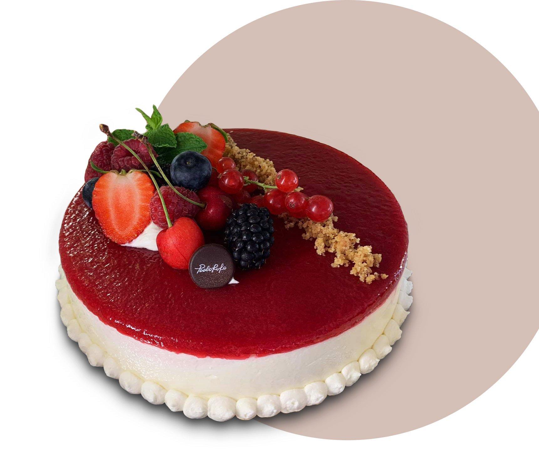 torta frutta rossa paolo rufo